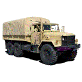 M35 Series 2.5 Ton 6X6 Truck
